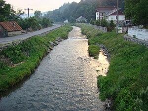 Mehedinți County - Bulba River at Baia de Aramă