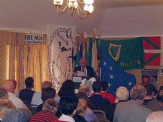 Ruairí Ó Brádaigh - Ruairí Ó Brádaigh speaking at the 2003 RSF Ard Fheis