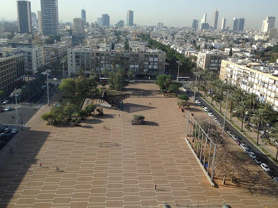 Rabin-square-tel-aviv-april-2014