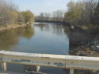 Raccoon River Tributary of the Des Moines River in central Iowa in the United States