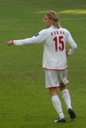 Radoslav Kováč - Kováč, playing for Spartak Moscow