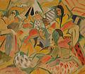 Rafael Barradas - Campamento gitano, 1918.jpg