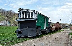 Narrow-gauge railways in Russia - Snowplow, Apsheronsk railway