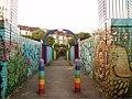Rainbow foot bridge - geograph.org.uk - 198026.jpg