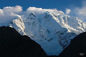 Rakaposhi - Image: Rakaposhi View from across the valley
