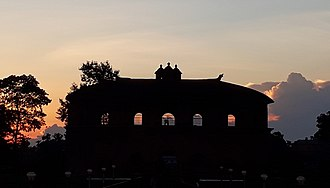 Rang Ghar - Rang Ghar at evening
