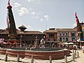 Rato Machchhindranath (Bungadyo) and Minnath(Chokadya) at Patan Durbar Square.jpg