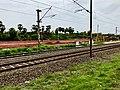 Ravikampadu railway station board.jpg