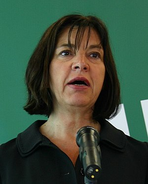 European Parliament election, 2009 (Germany) - Image: Rebecca Harms (2009)