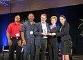 Receiving the Green Jobs Champion Award (7209279768).jpg