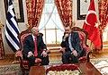 Recep Tayyip Erdoğan and George Papandreou, Turkey November 2009.jpg
