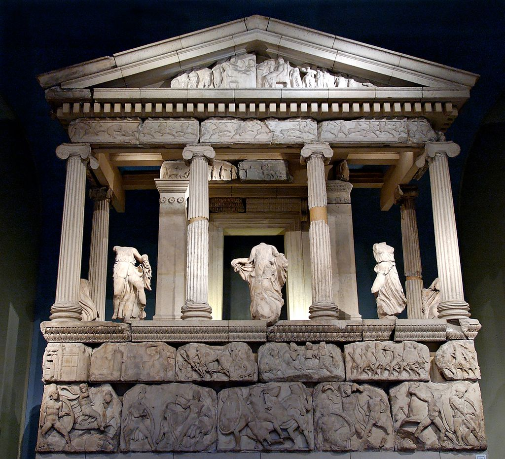 Reconstruction Nereid Monument BM