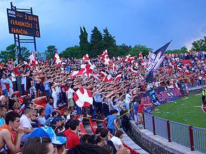 Čika Dača Stadium - Image: Red Devils Kragujevac 4