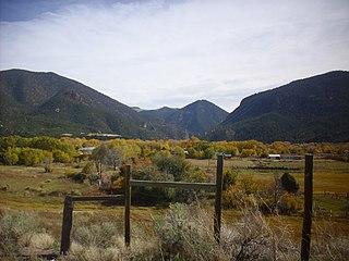 Latir volcanic field Volcanic field in New Mexico