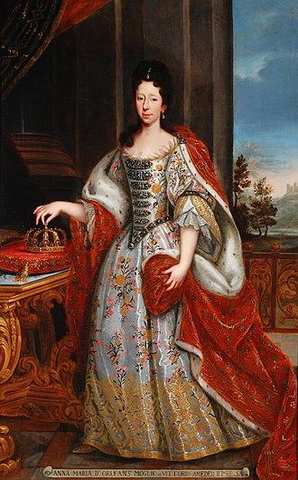 Anne Marie d'Orléans - Queen Anne Marie