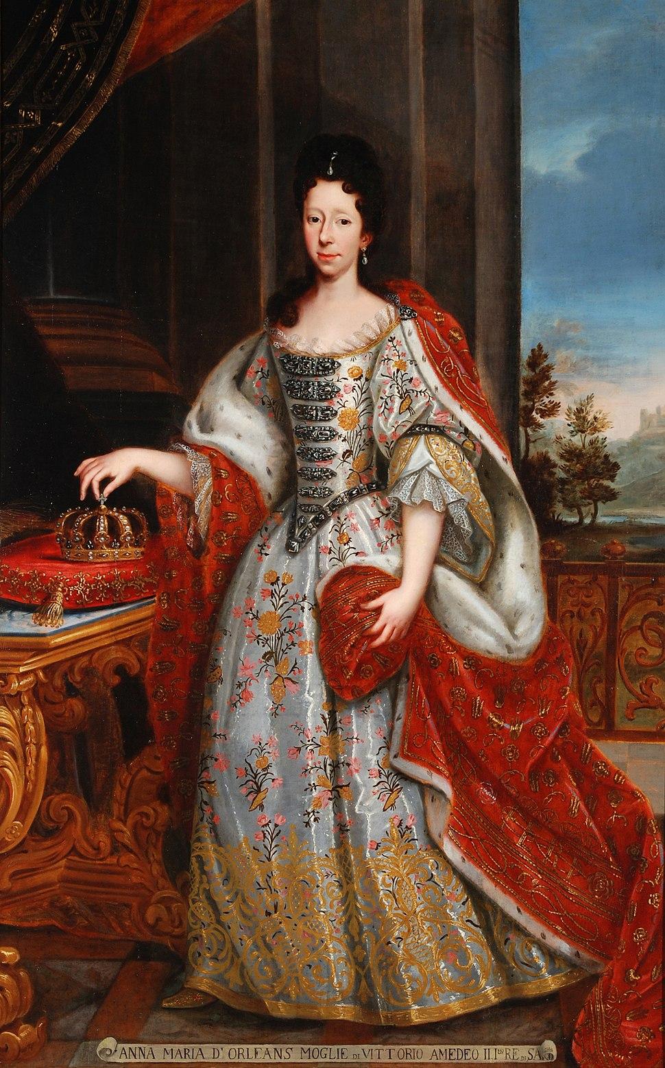 Regina Anna Maria di Orléans (1669-1728)