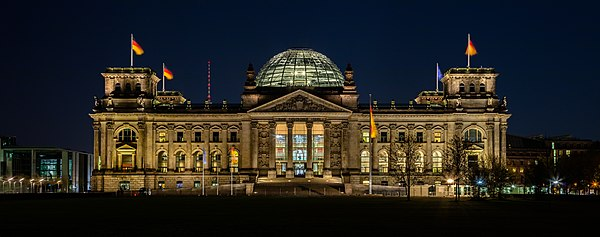 Reichstag (Parliament), Berlin, Germany