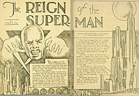 The Reign of the Superman cover
