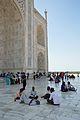 Relaxing Visitors - Taj Mahal - Agra 2014-05-14 3909.JPG