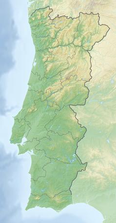 Mapa lokalizacyjna Portugalii