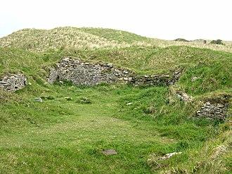 Perranzabuloe - Remains of St Piran's Old Church