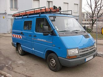 Renault Trafic - Image: Renault Trafic 4x 4