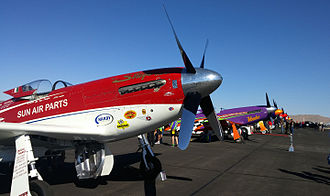 Reno Air Races - Reno 2015 Unlimited Gold Line Up by D Ramey Logan