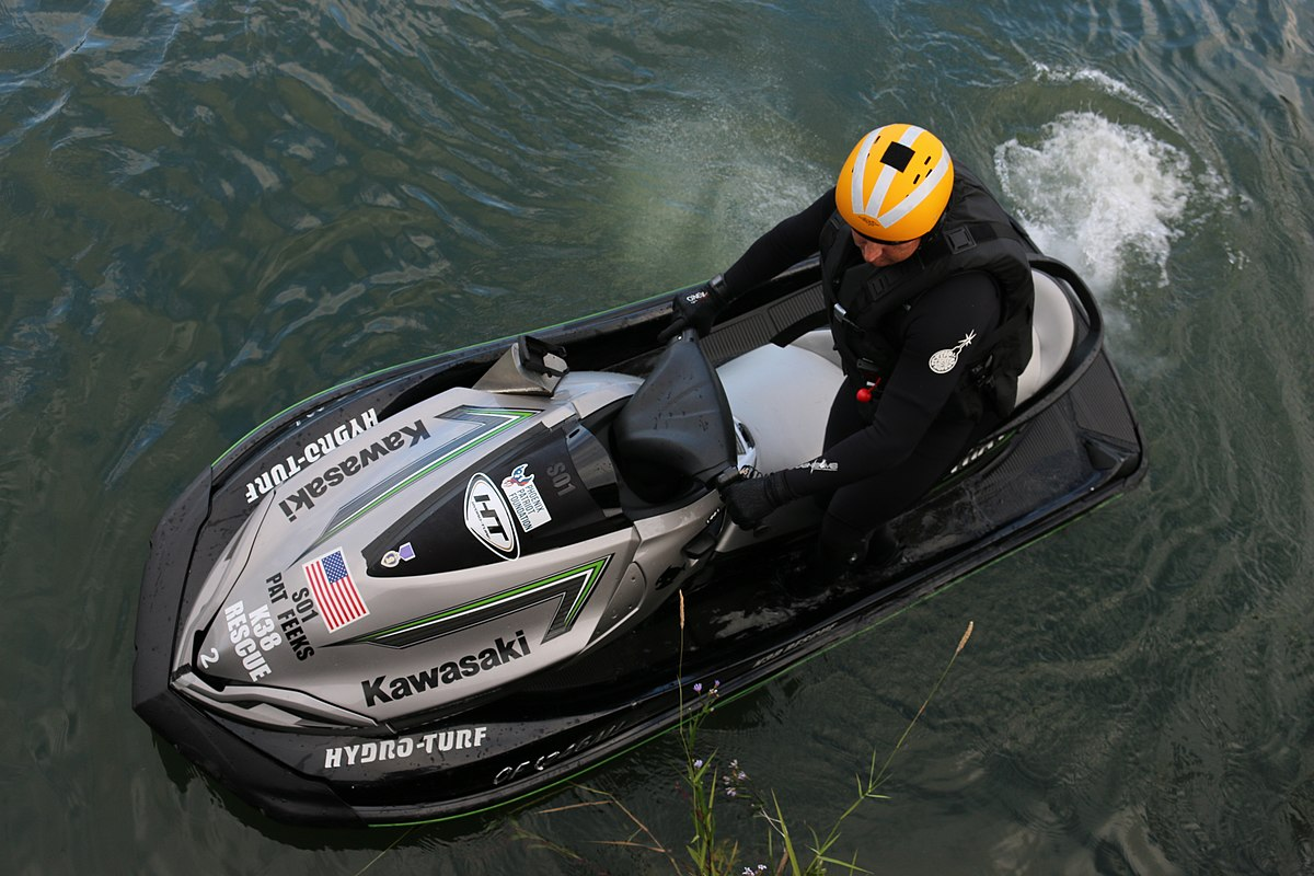 Kawasaki Jet Ski Stx  F Strong Starting