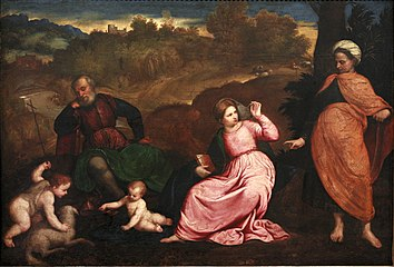 Rest during the Flight to Egypt-Paris Bordon mg 9985.jpg