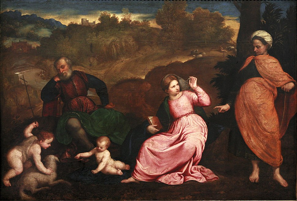 Rest during the Flight to Egypt-Paris Bordon mg 9985