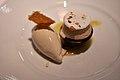 Restaurant Le Jardin des Sens Kastanje, chokolade, vanille og rom (5480975699).jpg