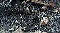 Restes du véhicule attaqué le 9 aout 2020 à Kouré 02.jpg