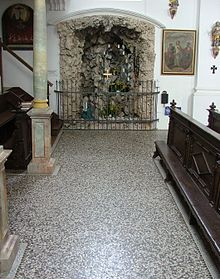 A Uniform Terrazzo Floor In German Church