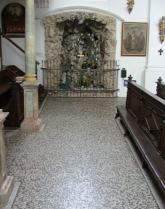 Terrazzo - A uniform terrazzo floor in a German church