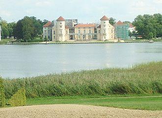 Rheinsberg - Image: Rheinsbergschloss 3