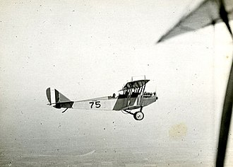 Rich Field - Curtiss JN-4 flying from Rich Field, Waco, Texas, 1918