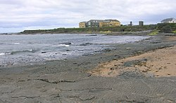 Spanish Point, 2007. Armada Hotel and the ruins of Atlantic Hotel.