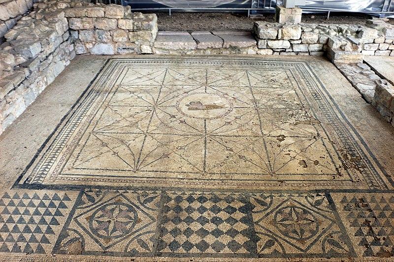 File risan villa romana mosaici della fine del ii secolo - I segreti della camera da letto ...