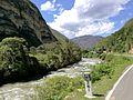 Riu Utcubamba entre Yerbabuena i Limatambo al districte de Mariscal Castilla al quilòmetre 261 de la carretera 8b.jpg