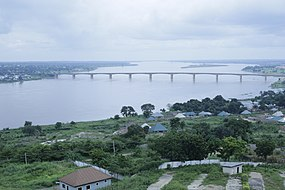 River Benue (in Makurdi showing NEW Bridge).jpg