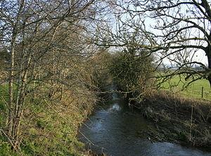 John Dennys - The River Boyd at Doynton