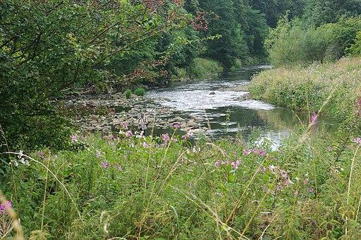 River Calder, Gawthorpe hall - geograph.org.uk - 1758317