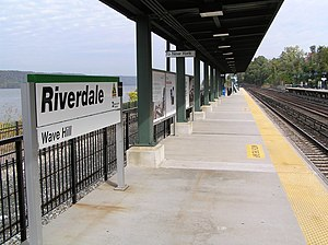 Riverdale (Metro-North station) - The Riverdale Metro-North station