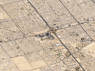 Riyadh - Satellite image of Riyadh