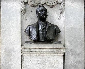 Richard Morris Hunt - Richard Morris Hunt Memorial, Fifth Avenue, New York City