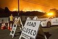 Road Closed La Tuna fire.jpg