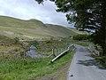 Road and stream at Aberdauddwr - geograph.org.uk - 466041.jpg