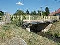 Road bridge over the Torna Stream, Liszt Ferenc utca, 2019 Ajka.jpg