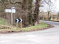 Road junction, near the old entrance to Chester Zoo - geograph.org.uk - 667445.jpg