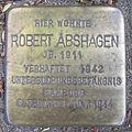 Robert Abshagen - Wachtelstraße 4 (Hamburg-Barmbek-Nord).Stolperstein.nnw.jpg